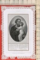 """Vecchio Santino Con Pizzo """"St.JOSEPH - San Giuseppe"""", Vedi Foto.. - Religione & Esoterismo"""