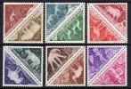 Tchad Taxe N° 23 / 34 XX  Motifs Préhistoriques;  Les 12 Valeurs  Sans Charnière, TB - Chad (1960-...)