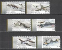 B074 SOLOMON ISLANDS WAR MILITARY AVIATION BATTLE OF BRITAIN ! MICHEL 13.35 EURO ! 1SET MNH NOTE THE UPPER RIGHT CORNER - Avions