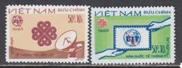 Vietnam 1983 - Annee Mondiale Des Communications, Mi-Nr. 1381/82, MNH** - Vietnam