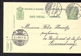1915 WALFERDANGE Esch-sur-Alzette (740a) - Stamped Stationery