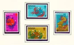 BAHAMAS  -  1974 UPU Set Unmounted/Never Hinged Mint - Bahamas (1973-...)