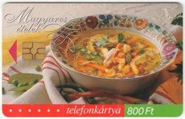 HUNGARY E-249 Chip Matav - Food, Traditional Soup - Used - Hongarije