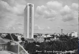 EMILIA ROMAGNA - RIMINI  - IL GRATTACIELO - VIAGGIATA 1961 - Rimini