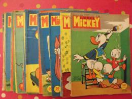Lot De 28 N° Le Journal De Mickey. 1959-60. Entre 354 Et 424. Donald Pisou Petite Annie Pluto Dingo Bobby Walt Disney 5 - Journal De Mickey