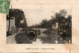 Buzet -    Pont  Sur  Le  Canal. - Other Municipalities