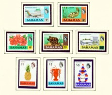BAHAMAS  -  1978 Definitives No Watermark Set Unmounted/Never Hinged Mint - Bahamas (1973-...)