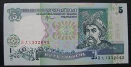 Ukraine 5 Hryvnia Griven UAH 2001 A UNC  Stelmakh - Ukraine