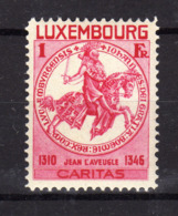 LUXEMBOURG 1934 Chevalier Caritas Yv 255 MNH ** - Luxembourg