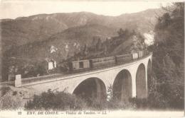 Dépt 20 - VENACO - Viaduc De Vecchio - (train, Environs De Corte, Corse) - LL N° 22 - Sonstige Gemeinden