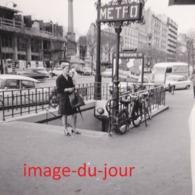 PHOTO ANCIENNE  STATION DE METRO PORTE DE ST CLOUD (métropolitaine  Paris ) - Lieux