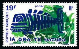 POLYNESIE 1975 - Yv. 105 **   Cote= 13,20 EUR - Protection De La Nature  ..Réf.POL24339 - Neufs