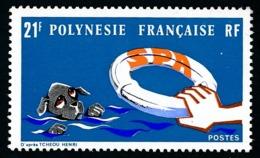 POLYNESIE 1974 - Yv. 96 **   Cote= 14,20 EUR - S.P.A. (Soc. Protectrice Des Animaux)  ..Réf.POL24335 - Neufs