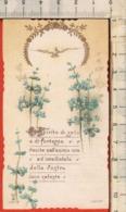 """Antico Santino Lega Eucaristica """"S.Cresima - N.10005"""" Vercelli 1919, Vedi Foto - Religión & Esoterismo"""