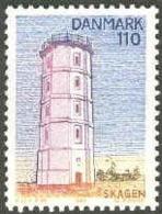 LEUCHTTURM PHARE FARO LIGHTHOUSE SKAGEN DANMARK DENMARK DÄNEMARK 1980 MNH MI 1705 - Faros