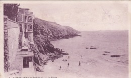 [29] Finistère >  Sainte Anne De Porzic La Plage Sepia Rose RARE - France