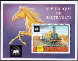 Musée Français Du Chemin De Fer De Mulhouse Locomotive Forquenot 340 P.O. 1882 - Obervolta (1958-1984)