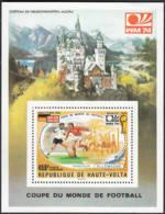Coupe Du Monde De Football 1974 Château De Neuschwanstein Allgäu - Obervolta (1958-1984)