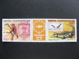 République Centrafricaine -  TB Paire Avec Intervalle PA N° 196A. Neuve XX. GT. - Zentralafrik. Republik