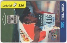 MEXICO B-086 Chip Telmex - Event, Sport, Olympic Games, Running - Used - Mexico