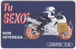 MEXICO B-088 Chip Telmex - Advertising, Food, Pizza, Traffic, Motorbike - Used - Mexico