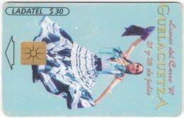 MEXICO B-092 Chip Telmex - People, Woman - Used - Mexico