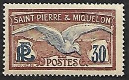 ST PIERRE ET MIQUELON   1922-28  -  Y&T 112 -  NEUF** - St.Pedro Y Miquelon