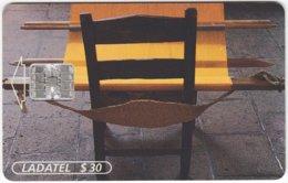 MEXICO B-098 Chip Telmex - Culture, Weaving - Used - Mexico