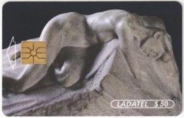 MEXICO B-103 Chip Telmex - Culture, Sculpture - Used - Mexico
