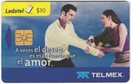 MEXICO B-110 Chip Telmex - People, Couple - Used - Mexico