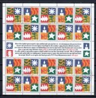 Netherlands 1994 Kleinbogen NVPH  V1628-1629 Canceled (X-MAS) - Bloques