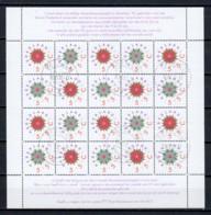 Netherlands 1992 Kleinbogen NVPH  V1542-1543 Canceled (1) X-MAS) - Bloques