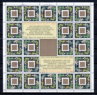 Netherlands 1991 Kleinbogen NVPH  V1487 Canceled (2) X-MAS - Bloques