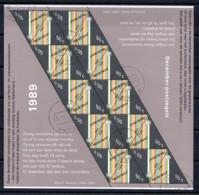 Netherlands 1989 Kleinbogen NVPH  V1439 Canceled X-MAS - Bloques