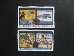 A). République Centrafricaine -  TB Paire PA N° 201 Et PA N° 202. Neufs XX. - Zentralafrik. Republik