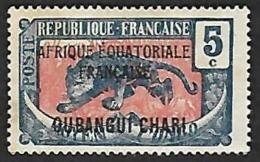 OUBANGUI-CHARI  1924-25  - YT   46 - NEUF* - Neufs