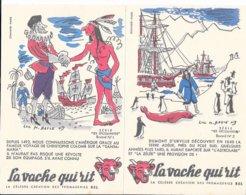 LOT DE 10 BUVARDS LA VACHE QUI RIT -  SERIE N° 3 LES DECOUVERTE- DESSINATEUR LUC M BAYLE - - Dairy