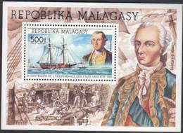 Bi-centenaire De L'indépendance Des Etats-Unis 1776 1976 - Madagaskar (1960-...)