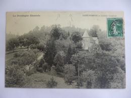 Saint Pompon.  Château Castelviel. - France