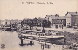 Fin D'Oise L'Embouchure De L'Oise Circulée En 1923 - St. Germain En Laye