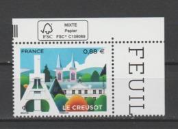 FRANCE / 2019 / Y&T N° 5345 ** : Le Creusot (Saône-et-Loire) X 1 CdF FSC - Gomme D'origine Intacte - Frankreich