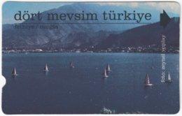 TURKEY C-007 Magnetic Telekom - Landscape, Coast - Used - Turquie