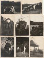 Photos Format 8.5x6  -Vallée De La Meuse Et De La Semois , Herbeumont, Auby, Chiny, Orval, Corbion - Datées 1921 - Luoghi