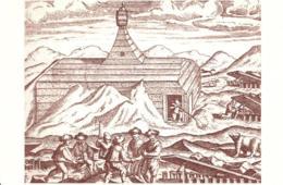 [MD3929] CPM - COLLEZIONE POSTALE ARTICA CON ANNULLO E FIRME E FRANCOBOLLO N° 17 1596 WILHEM BARENTS - PERFETTA - NV - Storia