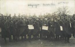ECOLE SPECIALE MILITAIRE DE SAINT CYR - Militaires 11 Brigade En 1914 (carte Photo H Noart ) - Regimente
