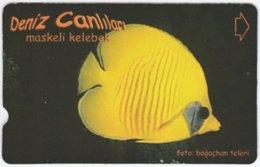 TURKEY C-178 Magnetic Telekom - Animal, Sea Life, Fish - Used - Turkey