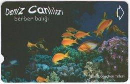TURKEY C-190 Magnetic Telekom - Animal, Sea Life, Fish - Used - Turkey