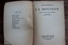 """ROMAN """"LA MOUSSON"""" De L .Bromfield Ed STOCK 1955  Manque Page De Couverture, Sinon Complet Et En Bon état.. - Bücher, Zeitschriften, Comics"""