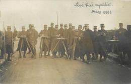 ECOLE SPECIALE MILITAIRE DE SAINT CYR - Topographie, Levé Très Expédié En 1914 (carte Photo H Noart ) - Regimente