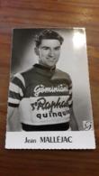 CARTE CYCLISME  Jean MALLÉJAC   ST RAPHAËL QUINQUINA - Cycling